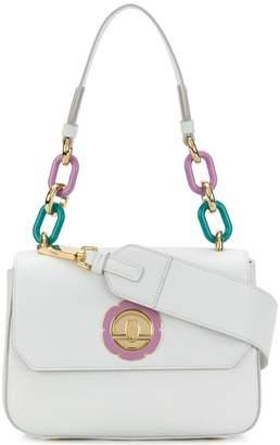 Salvatore Ferragamo chain-embellished shoulder bag
