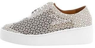 Robert Clergerie Tasso Platform Sneakers w/ Tags