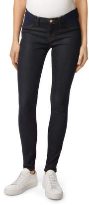 J Brand Mama J Mid-Rise Super Skinny in After Dark