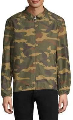 Herschel Men's Mod Camouflage Jacket - Woodland Camo - Size Medium