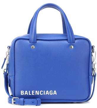 Balenciaga Triangle Square XS leather shoulder bag