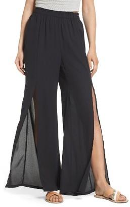 Women's Mimi Chica Slit Detail Pants $39 thestylecure.com