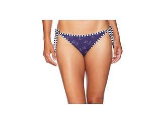 Vineyard Vines Golf Boat Print Reversible String Bikini Bottom