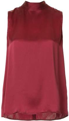 Nobody Denim Split sleeveless blouse