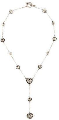 John Hardy Heart Lariat Necklace $345 thestylecure.com