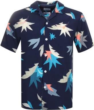 Farah Short Sleeved Tida Shirt Navy