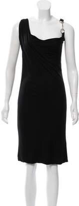 Gucci Asymmetrical Midi Dress