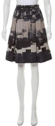 Max Mara Weekend Printed Knee-Length Skirt