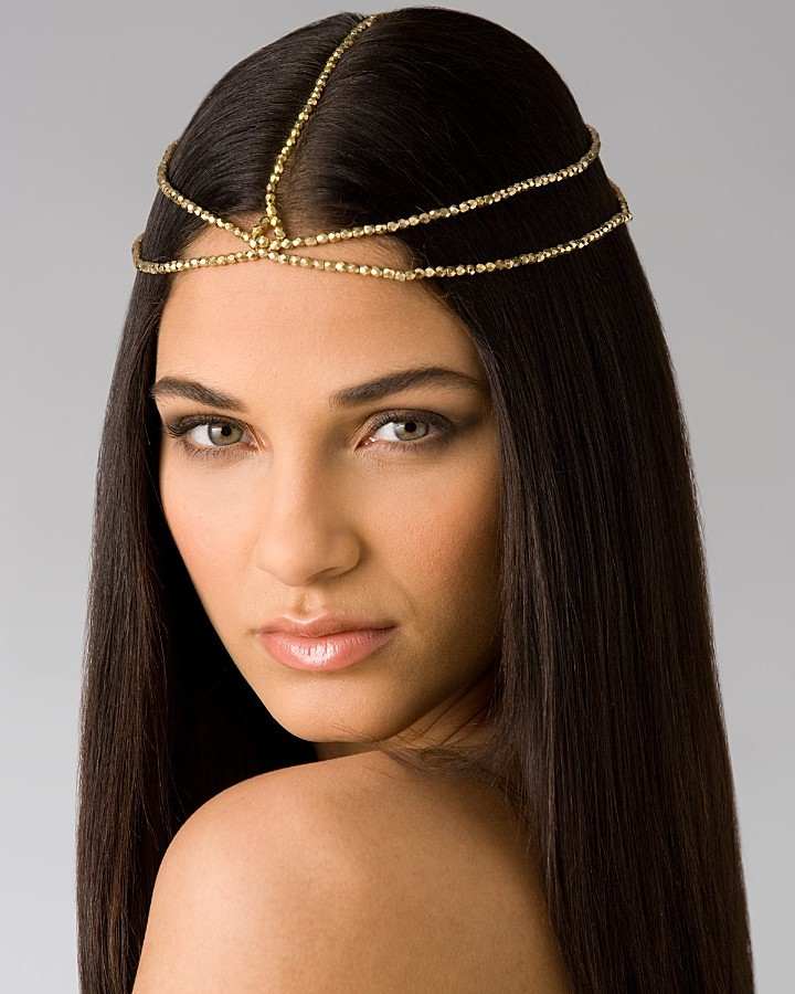 House of Harlow 1960 Five-Strand Headpiece