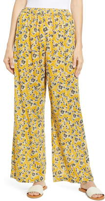 Caslon Print Wide Leg Pants