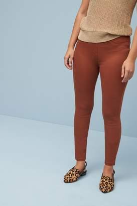 Next Womens Tan Jersey Denim Leggings - Brown