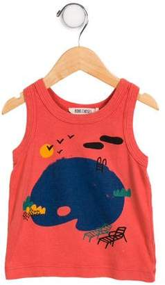 Bobo Choses Boys' Graphic Sleeveless Shirt