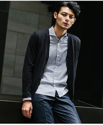 Takeo Kikuchi (タケオ キクチ) - TAKEO KIKUCHI コットンカシミヤカーディガンニット タケオキクチ ニット