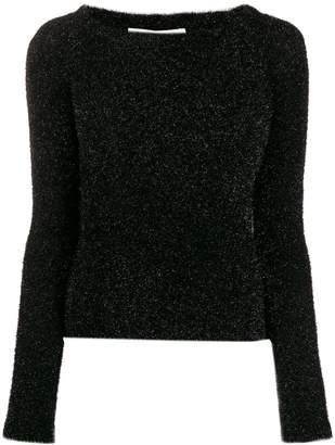 Philosophy di Lorenzo Serafini off-shoulder knit sweater
