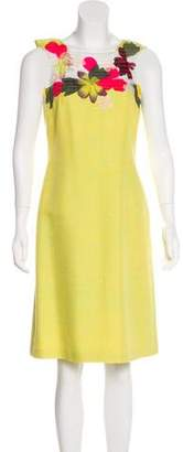 Christian Lacroix Embellished Knee-Length Dress
