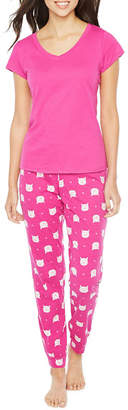 SLEEP CHIC Sleep Chic 2-pack Pant Pajama Set