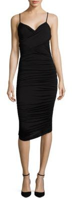 Bailey 44 Cumbia Ruched Bodycon Dress $188 thestylecure.com