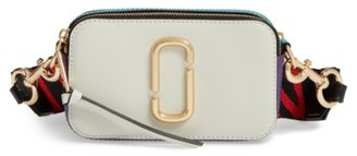 Marc Jacobs Snapshot Crossbody Bag - Grey $295 thestylecure.com