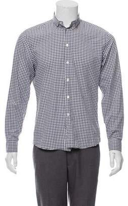 Givenchy Gingham Woven Shirt