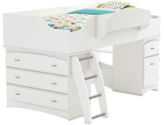 LOFT South Shore Imagine Storage Kids Bed White (Twin)