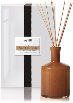 Lafco Inc. Amber Black Vanilla Reed Diffuser Foyer, 15 oz./ 444 mL