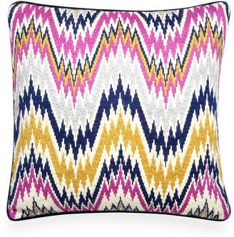 Jonathan Adler Lavender Bargello Worth Avenue Throw Pillow