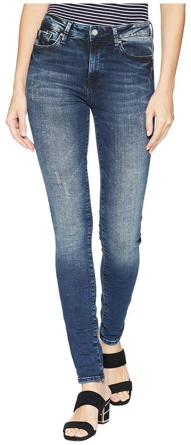 Mavi Jeans Alissa Super Skinny Denim in Ink Marine Tribeca Women's Jeans