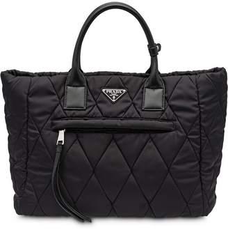 63ea9706ddc2 Prada Nylon Quilted Bag - ShopStyle