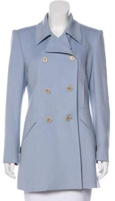 Hermes Cashmere Double-Breasted Coat