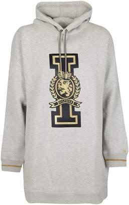Tommy Hilfiger Logo Print Hoodie Dress