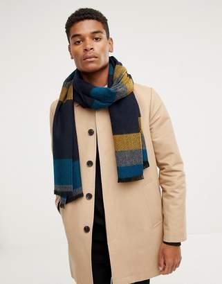 Ted Baker Helston scarf in stripe