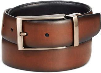 Ryan Seacrest Distinction Tuscan Leather Reversible Belt