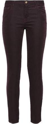 Corduroy Slim-Leg Pants