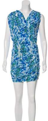IRO Printed Drape Dress