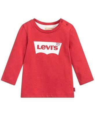 Levi's Kids Bat Long Sleeved Logo T-shirt