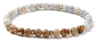 Topman Mens Multi Wooden Bead Bracelet*