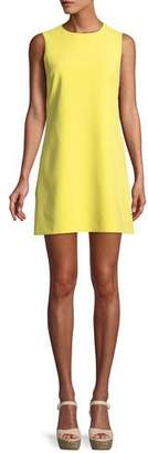 Alice + Olivia Coley Crewneck Sleeveless A-Line Mini Dress
