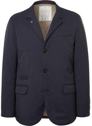Brunello Cucinelli Slim-Fit Quilted Shell Down Jacket - Men - Navy