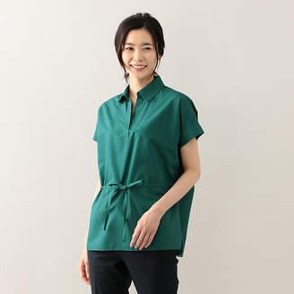 Amaca (アマカ) - アマカ プレーンクロススキッパー衿チュニックシャツ