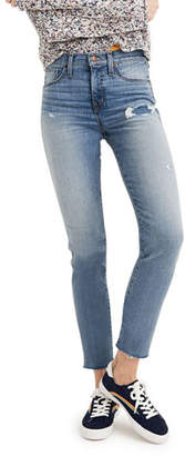 Madewell High-Rise Stovepipe Jeans