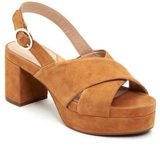 Taryn Rose Wanda Block Heel Sandal