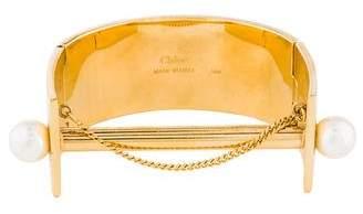 Chloé Faux Pearl Darcey Bracelet