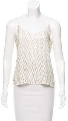 Rory Beca Embellished Sleeveless Top