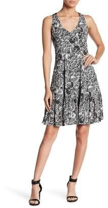 Gabby Skye Sleeveless Back Crochet Dress