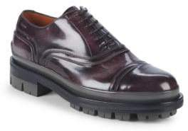 Bally Cologny Leather Oxfords