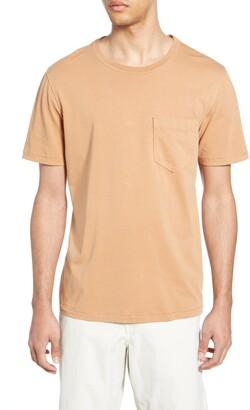Billy Reid Slim Fit Crewneck T-Shirt