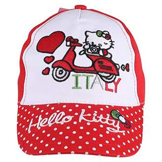 2925973d at Amazon.co.uk · Hello Kitty Girl's Italy Cap, Red, (Size:3-4 Years)