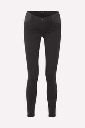 J Brand (ジェイ ブランド) - J Brand - Mama J Mid-rise Skinny Maternity Jeans - Black