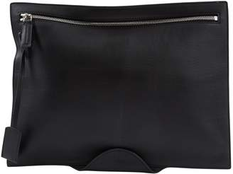 HUGO BOSS Black Leather Clutch bags