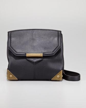 Alexander Wang Marion Plated Clutch Bag, Black
